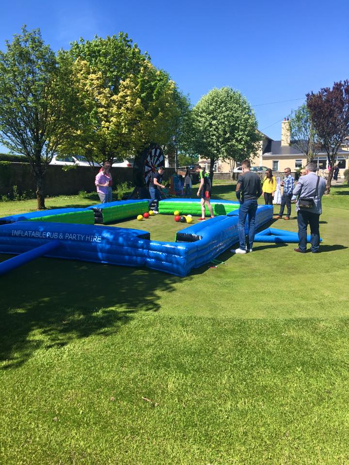 Foot  Pool, Made In Ireland, Giant Pool Table, Snookball, Giant Games