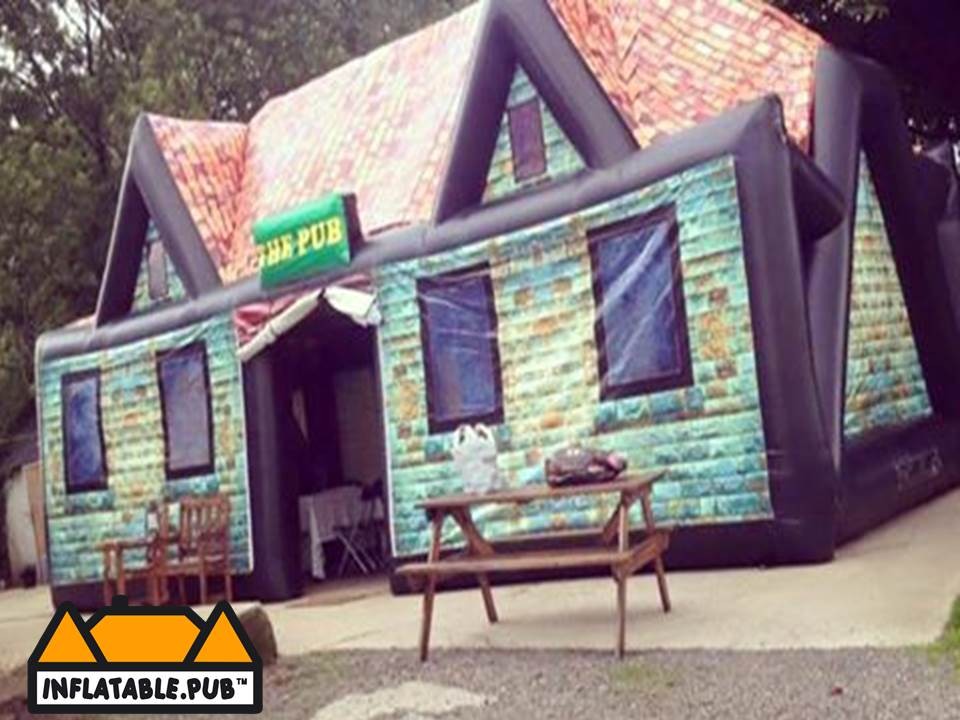 exterior inflatable pub. Black Bedroom Furniture Sets. Home Design Ideas