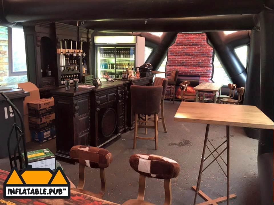 Interior Inflatable Pub